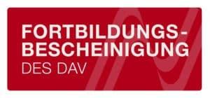Fortbildungsnachweis des Deutschen Anwaltsvereins